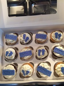 BabyBoy - cupcakes for all occasions - cake maker - berwick upon tweed