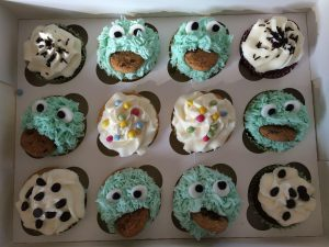 Cookie Monster - cupcakes for all occasions - cake maker - berwick upon tweed