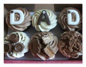 Fathers Day - cupcakes for all occasions - cake maker - berwick upon tweed