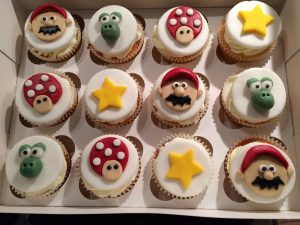 Mario - cupcakes for all occasions - cake maker - berwick upon tweed