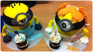 Minions cakes - minion - celebration cake - birthday cakes - berwick upon tweed - cake maker