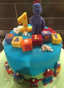 In the night garden cake - iggle piggle - birthday cakes celebration cakes - berwick upon tweed - cake maker
