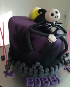 Nightmare before christmas cake - birthday cakes - celebration cakes - berwick cake maker - blacks creative cupcakes