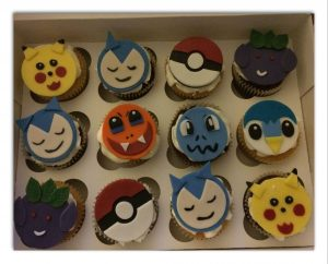 Pokemon - cupcakes for all occasions - cake maker - berwick upon tweed