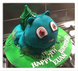 Pokemon character cakes - shaped cakes - birthday cakes - celebration cakes - berwick upon tweed cake maker