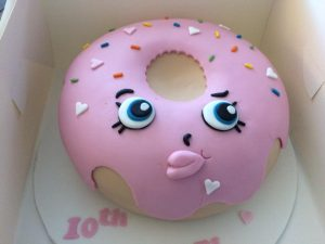 Shopkins cake - doughnut cake - birthday cakes - celebration cakes - berwick upon tweed - cake maker