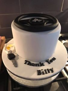 car cakes - birthday cakes - every celebration cakes - cake maker - berwick upon tweed