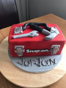 Tool Box cake - birthday cakes, occasion cakes - blacks creative cupcakes - berwick upon tweed