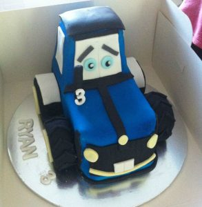 Tractor cake - sculpted cakes - design your own cake - blacks creative cupcakes