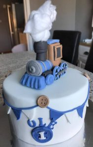 Train cake topper - any flavour cake - birthday cakes - berwick upon tweed cake maker