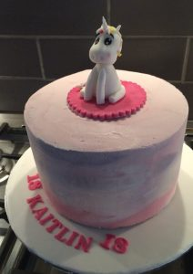 Unicorn model - unicorn cake - butter icing cake - blacks creative cupcakes - cake maker