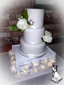Wedding cake - occasion cakes - design your own cake - cake maker - berwick upon tweed
