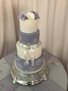 Wedding four tier cake - any design - any flavour - cake maker - berwick upon tweed
