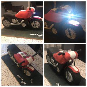Motorbike Cake - Cake Maker in Northumberland