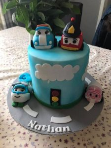 robocar Cake